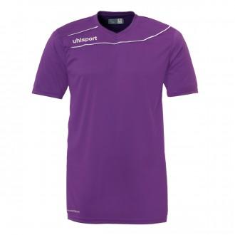 Camiseta  Uhlsport Stream 3.0 m/c Morado-Blanco