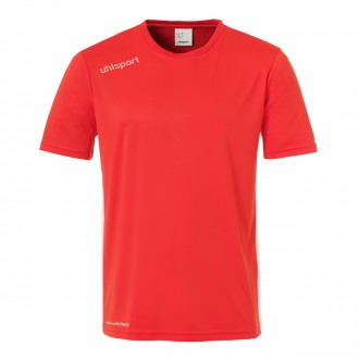 Camiseta  Uhlsport Essential m/c Rojo-Blanco