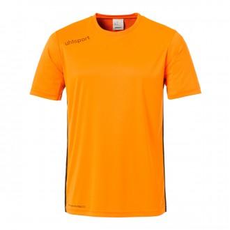 Camiseta  Uhlsport Essential m/c Naranja-Negro