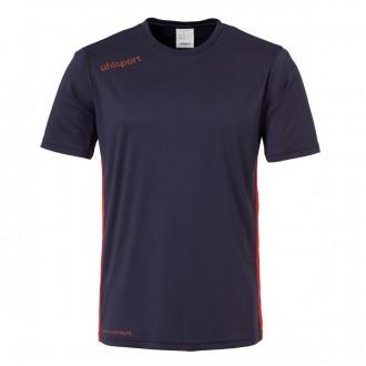 Camisola  Uhlsport Essential m/c Azul Marinho-Vermelho