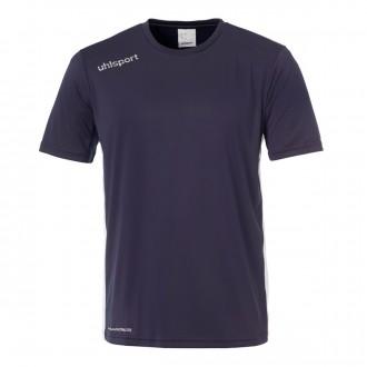 Camisola  Uhlsport Essential m/c Azul Marinho-Branco