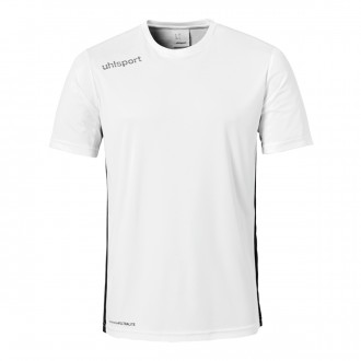 Camiseta  Uhlsport Essential m/c Blanco-Negro