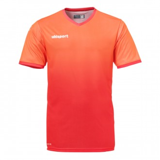 Maillot  Uhlsport Division m/c Rouge fluor-Rouge