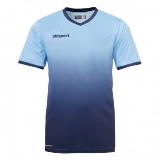 Camiseta  Uhlsport Division m/c Celeste-Azul marino