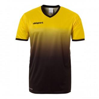Camiseta  Uhlsport Division m/c Amarillo lima-Negro