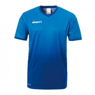 Camisola  Uhlsport Division m/c Azul cyan-Azul royal