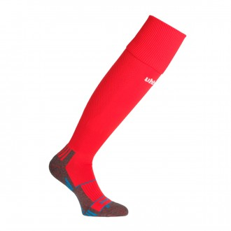 Football Socks  Uhlsport Team Pro Player Red-White
