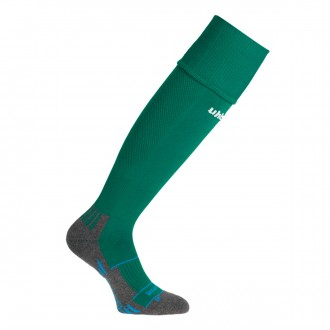 Football Socks  Uhlsport Team Pro Player Verde oscuro-White