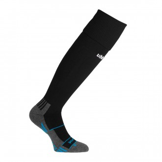 Football Socks  Uhlsport Team Pro Player Black-White