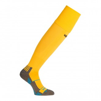 Football Socks  Uhlsport Team Pro Player Yellow-Black