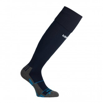 Football Socks  Uhlsport Team Pro Player Navy blue-White