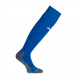 Football Socks  Uhlsport Team Pro Player Azul royal-White