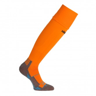 Football Socks  Uhlsport Team Pro Player Orange-Black