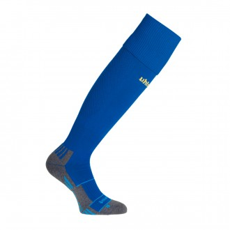 Football Socks  Uhlsport Team Pro Player Azul royal-Yellow