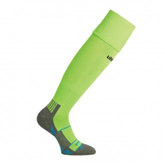 Football Socks  Uhlsport Team Pro Player Verde flúor-Black