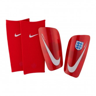 Shinpads  Nike Mercurial Lite England 2018-2019 Challenge red-Gym red-White