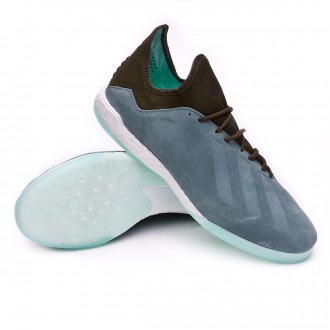 Zapatilla  adidas X Tango 18.1 TR Raw green-Night cago-Clear mint
