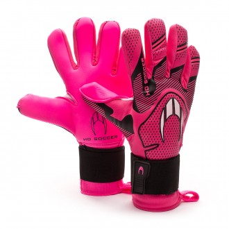 Glove  HO Soccer Supremo Club Negative Premiersoft Pink