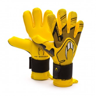 Guante  HO Soccer Supremo Club Negative Premiersoft Yellow