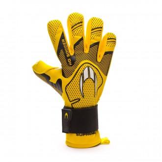 Guante  HO Soccer Supremo Club Negative Premiersoft Yellow