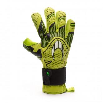 Glove HO Soccer Supremo Club Negative Premiersoft Green