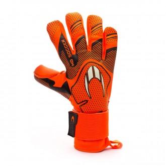 Glove HO Soccer Supremo Club Negative Premiersoft Orange