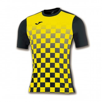 Jersey  Joma Flag m/c Black-Yellow