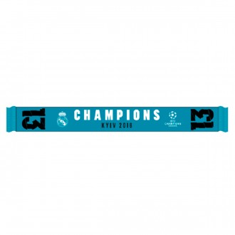 Scarf  adidas Real Madrid 13 Champions UCL 18 Blue-White