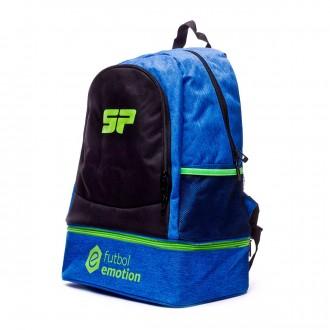 Backpack SP Fútbol Mussa Futbol Emotion Black-Navy-Volt
