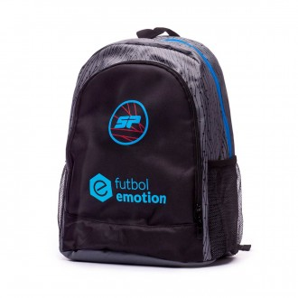 Mochila  SP Valor Futbol Emotion Negro-Gris
