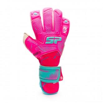 Glove  SP Fútbol Earhart 2 Pro Noelia Ramos Fuchsia-Turquoise