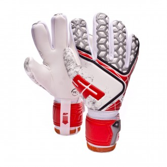 Guante  SP No Goal IX EVO Training Blanco-Rojo