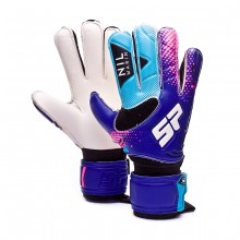 Glove Nil Marín Training Protect Purple-Turquoise