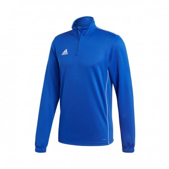 Sweatshirt  adidas Core 18 Training Bold blue-White