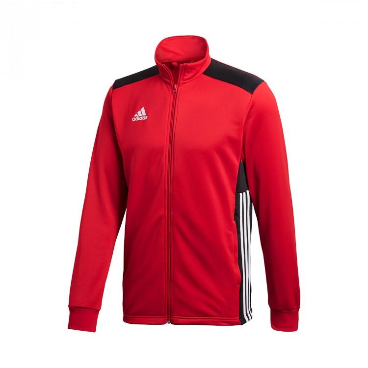 Negozio 18 Giacca Red Polyester Di Regista Adidas Black Power WvUx0UqRan