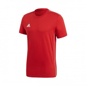 Jersey  adidas Core 18 Tee m/c Power red-White