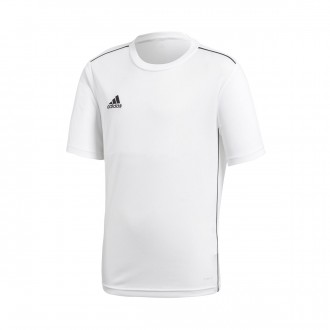 Jersey  adidas Kids Core 18  White-Black