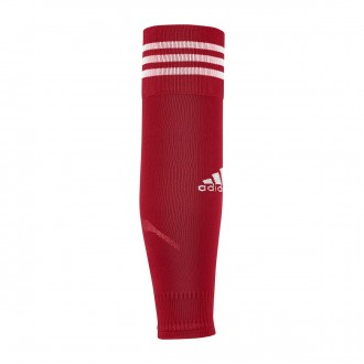 Football Socks adidas Team Sleeve 18 Power red-White