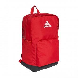 Backpack adidas Tiro Scarlet-Black-White