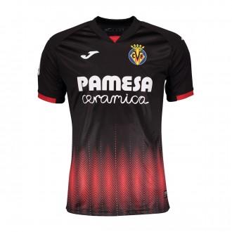 Camisola  Joma Villarreal CF Equipamento alternativo 2018-2019 Preto
