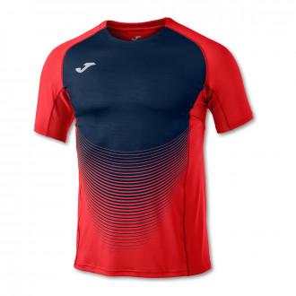 Camiseta  Joma Elite VI Rojo-Marino