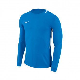Maillot  Nike Park Goalie III m/l Niño Photo blue-White