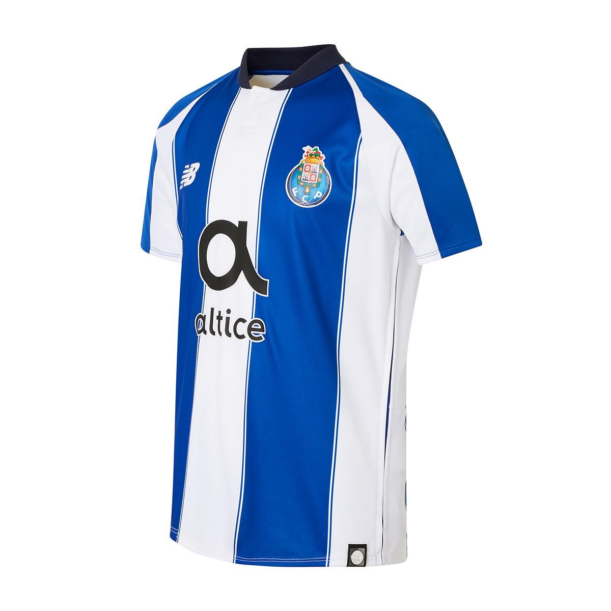 796dce728caf4 Camiseta New Balance FC Porto Primera Equipación 2018-2019 Niño Azul-Blanco  - Tienda de fútbol Fútbol Emotion