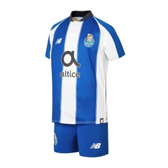 Kit  New Balance Kids FC Porto 2018-2019 Home Blue-White