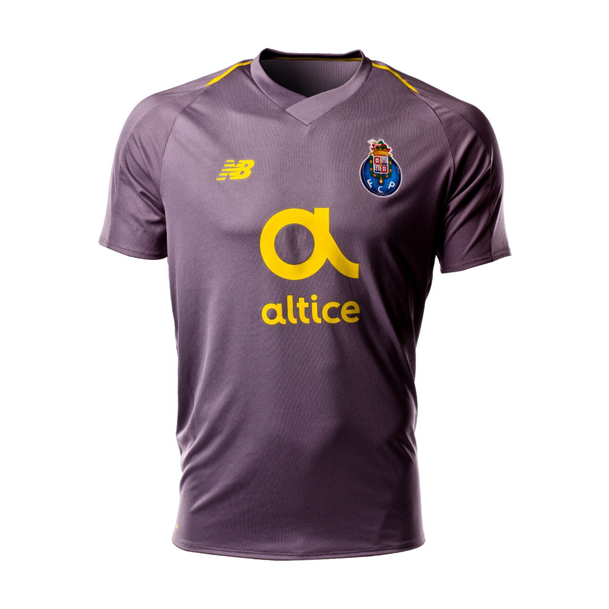aad3f2b9eb9 Jersey New Balance FC Porto 2018-2019 Away Grey - Football store ...