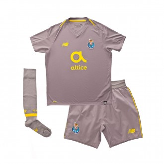 Kit  New Balance Kids FC Porto 2018-2019 Away Grey