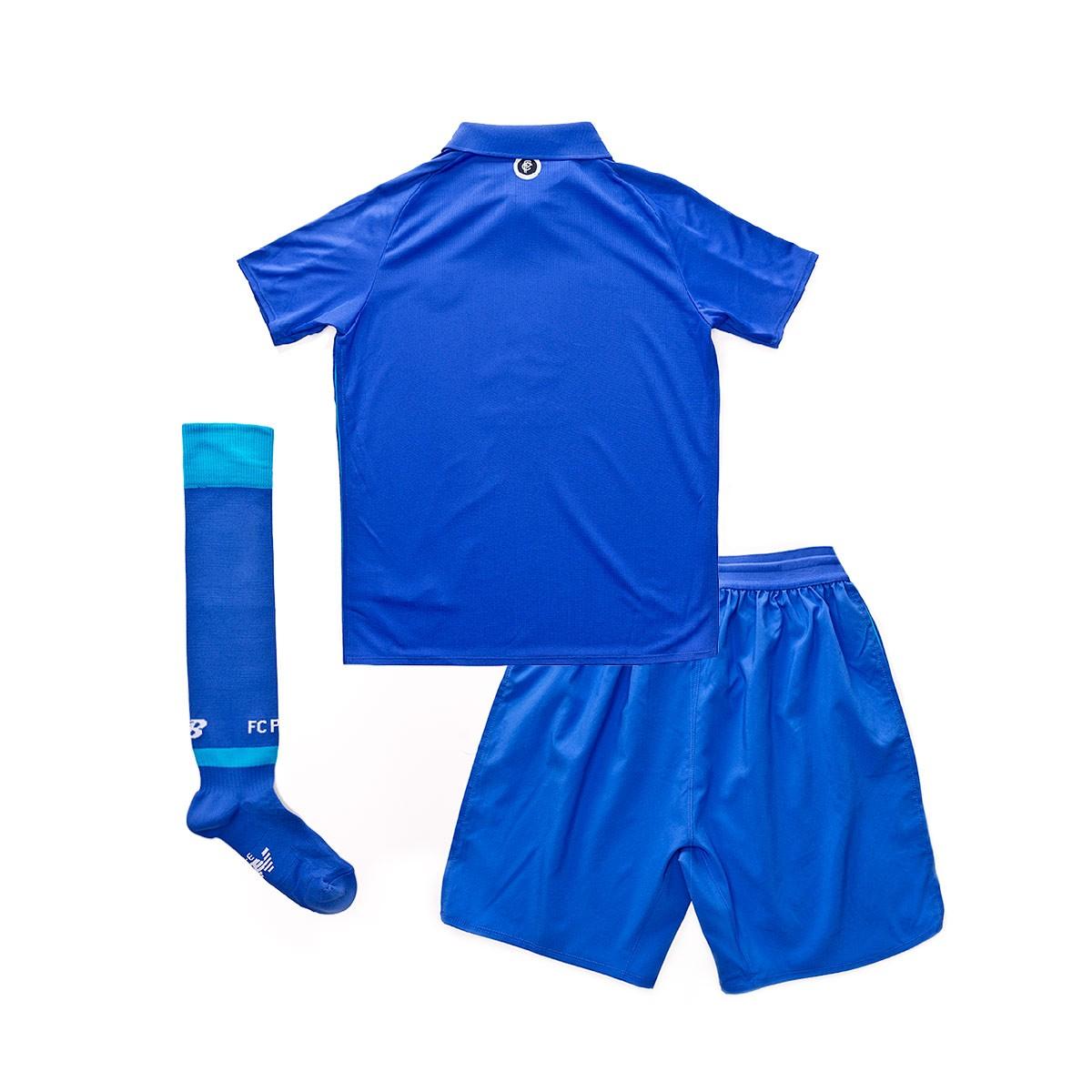 new style a3ae8 6b2f8 Conjunto FC Porto Tercera Equipación 2018-2019 Niño Azul