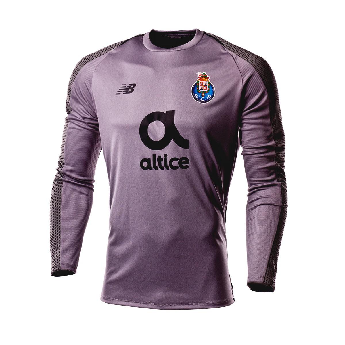 e45196ecc6e87 Camiseta New Balance FC Porto Primera Equipación Portero 2018-2019 Gris -  Tienda de fútbol Fútbol Emotion