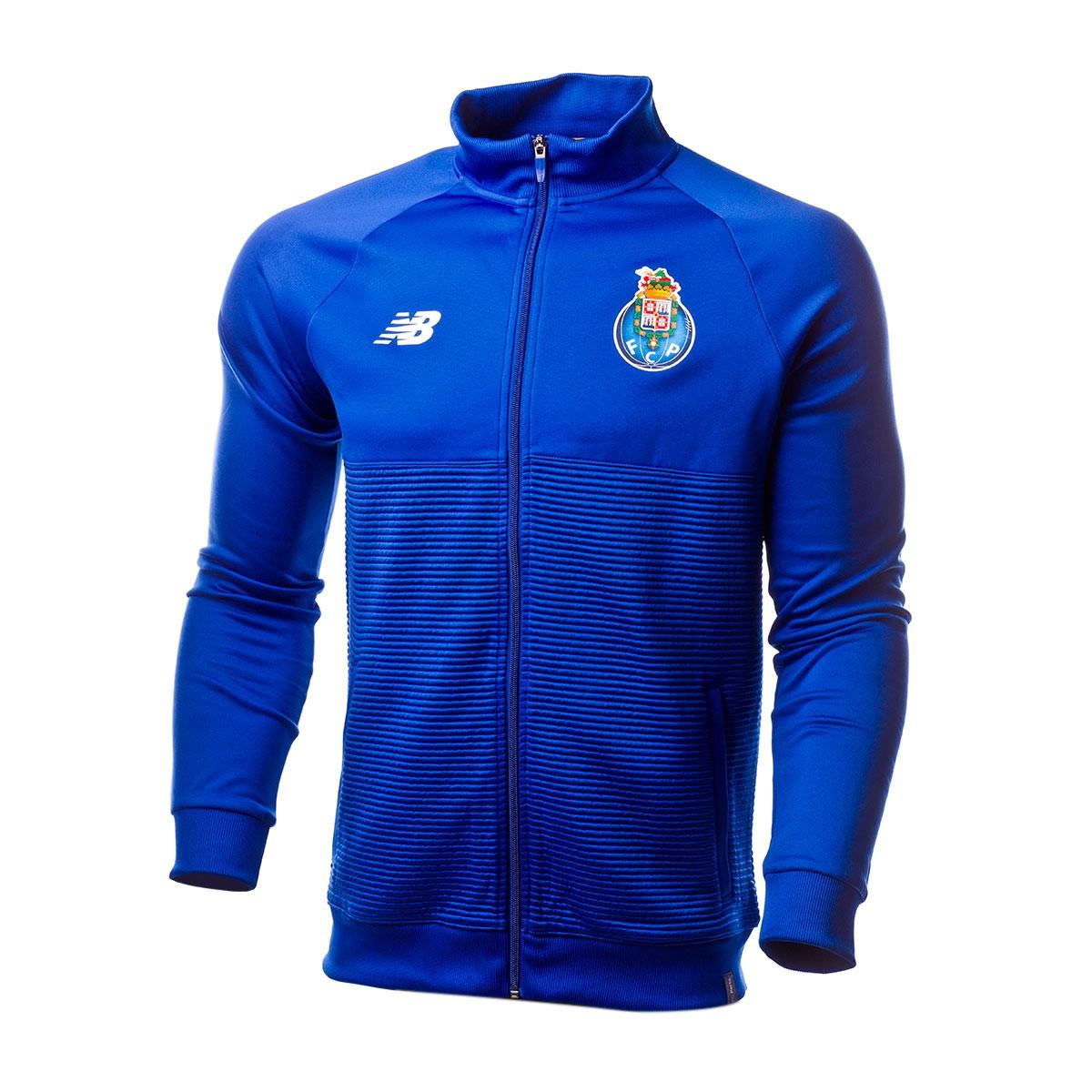 photos officielles 32161 d0ea3 Chaqueta FC Porto Elite Training Walk Out 2018-2019 Azul