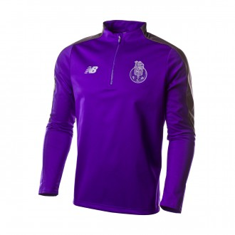 Sudadera  New Balance Softshell FC Porto Elite Training 1/2 zip 2018-2019 Morado